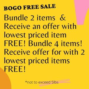 BOGO FREE!!! ⭐️ Bundle & Save!!  🪧 SALE! Bogo